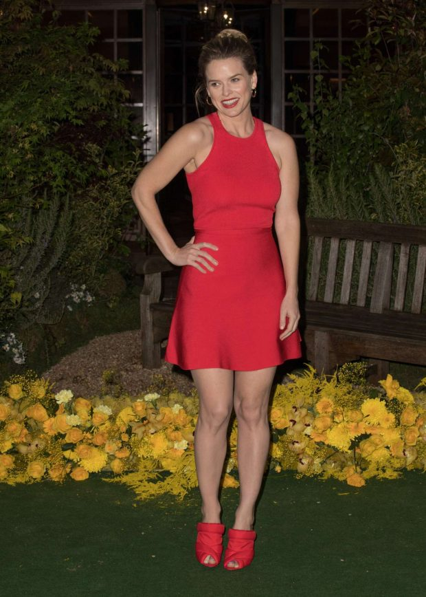 Alice Eve - JW Marriott Grosvenor House 90th Anniversary Party in London