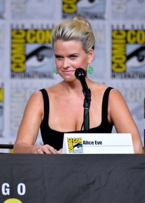 Alice Eve - Marvel's 'Iron Fist' Panel at 2018 Comic-Con in San Diego