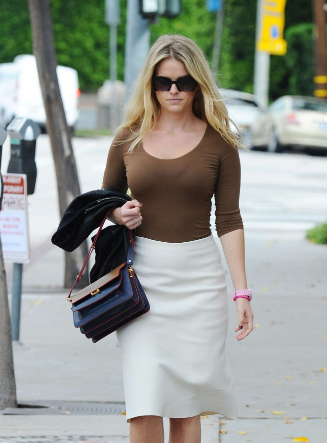 Alice Eve out and about in Los Angeles