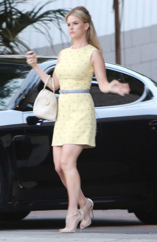 Alice Eve out in West Hollywood