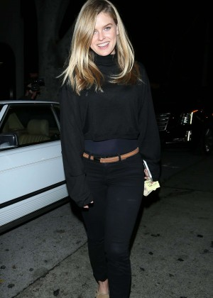Alice Eve - Outside Madeo in Los Angeles