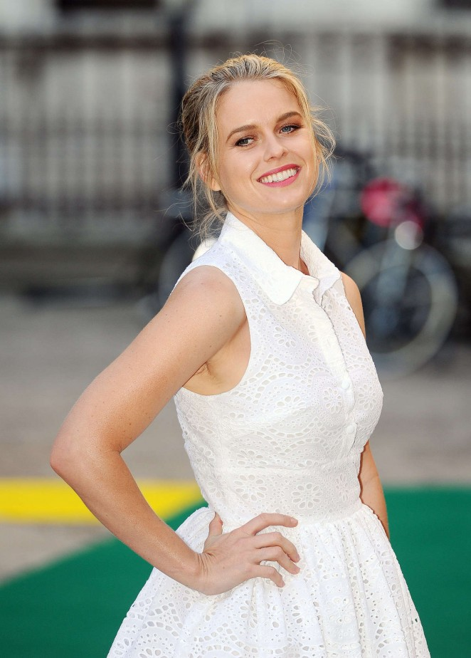 Alice Eve - Royal Academy of Arts Summer Exhibition in London