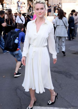 Alice Eve - Schiaparelli Haute Couture Show FW 2019 in Paris