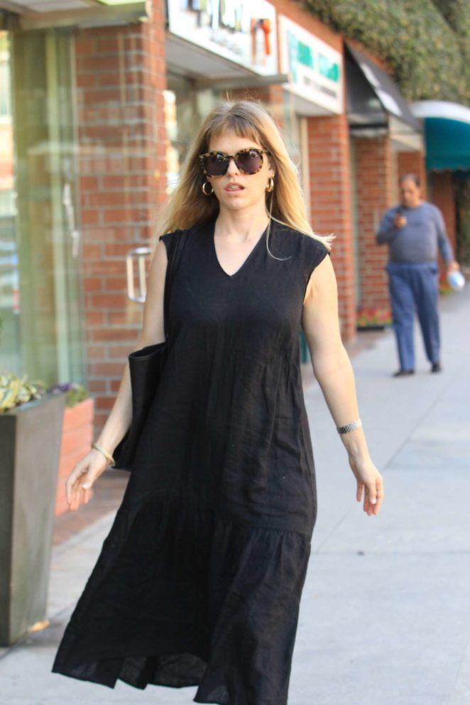 Alice Eve Shopping in Beverly Hills