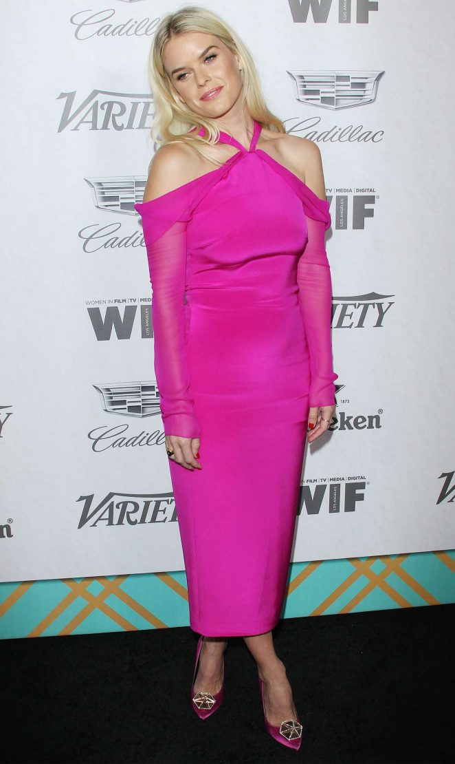 Alice Eve - Variety and Women in Film Pre-Emmy Party in LA