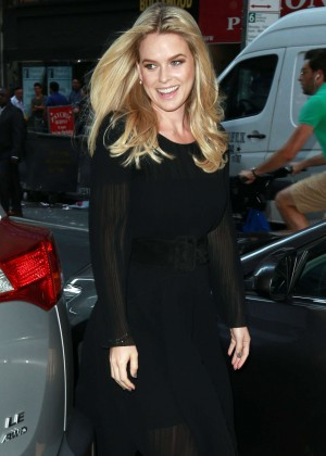 Alice Eve: Visits the Today show -01