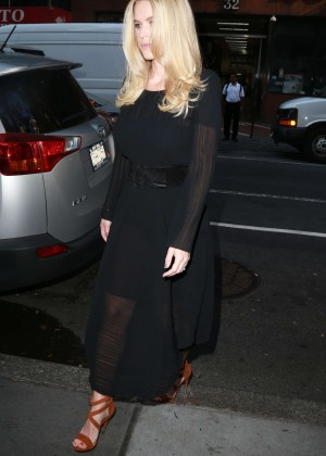 Alice Eve: Visits the Today show -03