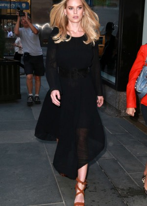 Alice Eve: Visits the Today show -04
