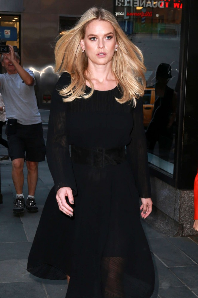 Alice Eve - Visits the 'Today' show in NYC