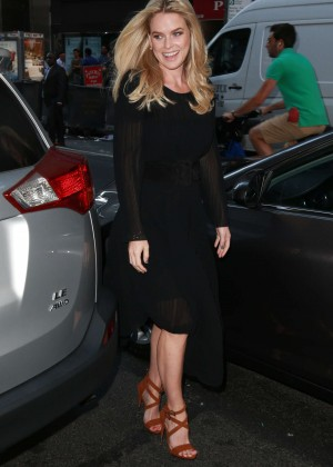 Alice Eve: Visits the Today show -08