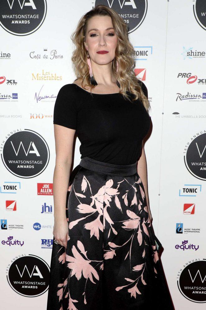Alice Fearn - 2018 Whatsonstage Awards in London