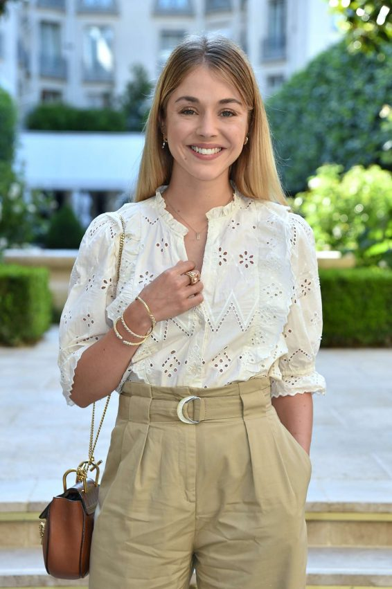 Alice Isaaz - David Yurman Cocktail at Paris Haute Couture 2019 in Paris