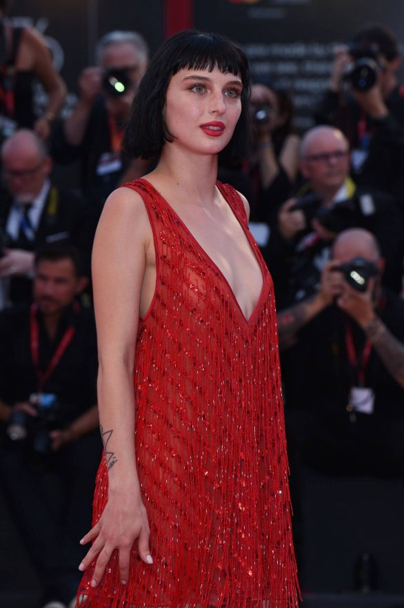 Alice Pagani - 'Joker' Screening at 2019 Venice Film Festival