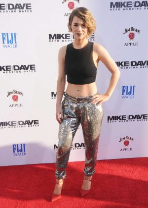 Alice Wetterlund - 'Mike And Dave Need Wedding Dates' Premiere in Hollywood