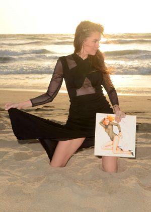 Alicia Arden at Alicia Arden Risque 'Candy-O' Photoshoot for Vinylife in Malibu