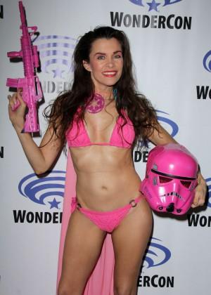Alicia Arden at WonderCon 2016 in Los Angeles