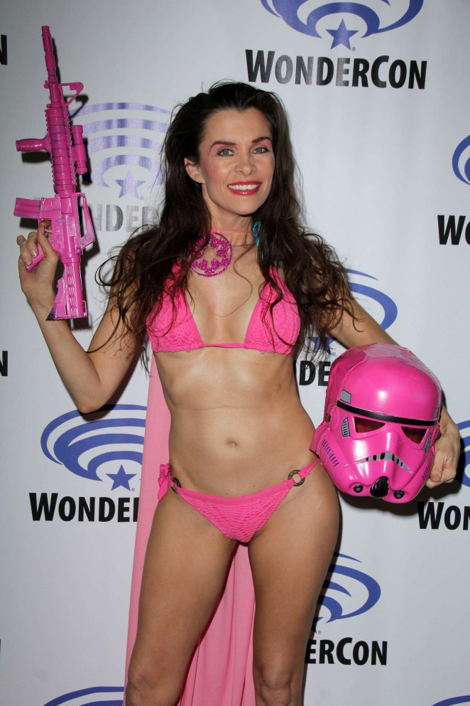 Alicia Arden at WonderCon 2016 in Los Angeles