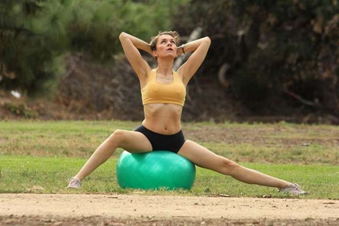 Alicia Arden – Doing Yoga in Valley Village