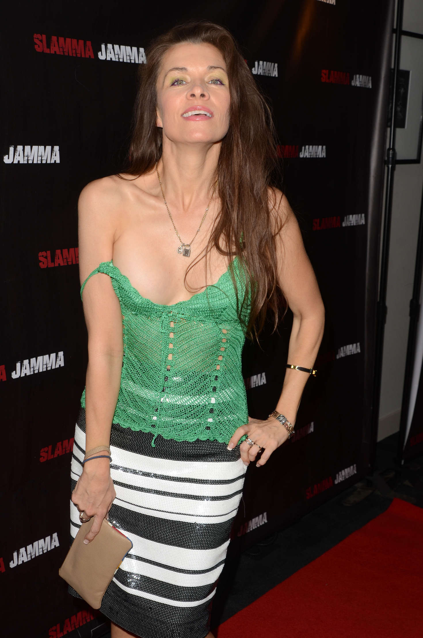Alicia Arden Slamma Jamma Screening In Los Angeles