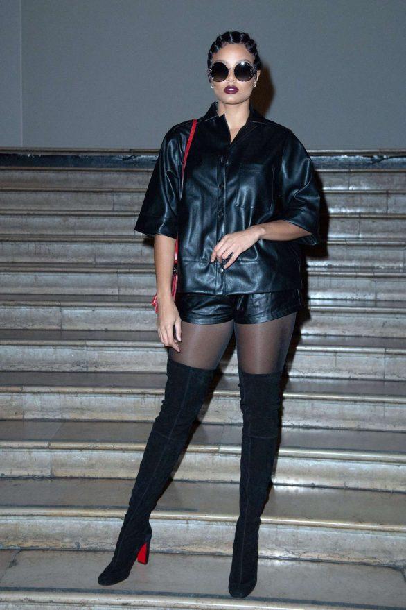 Alicia Aylies - Antonio Grimaldi Haute Couture Show 2020 in Paris