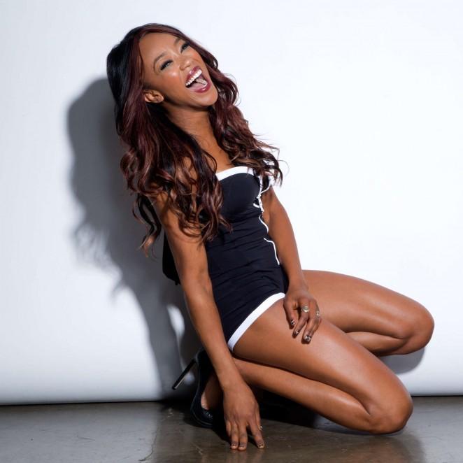 Alicia Fox - WWE Divas 2015 Photoshoot Outtakes