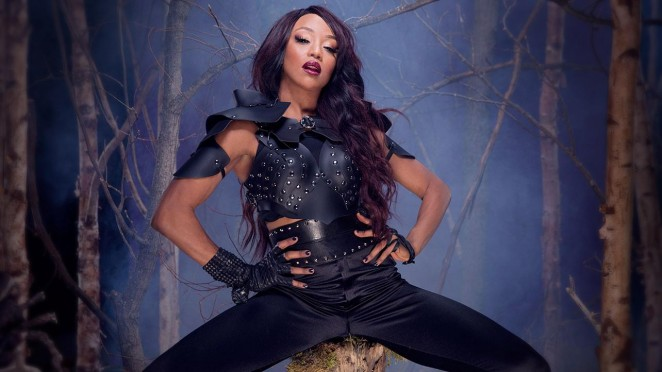 Alicia Fox - WWE Divas Deadman Photoshoot 2015