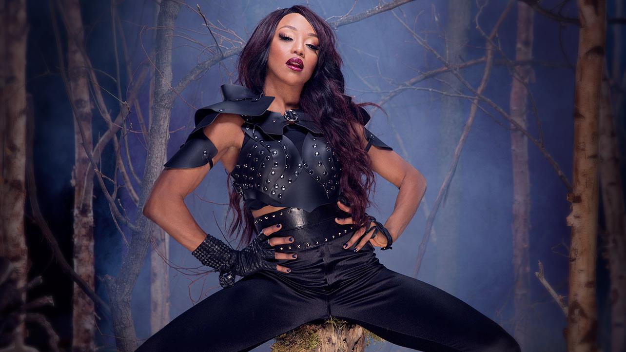 Alicia Fox Wwe Divas Deadman Photoshoot 2015 Gotceleb