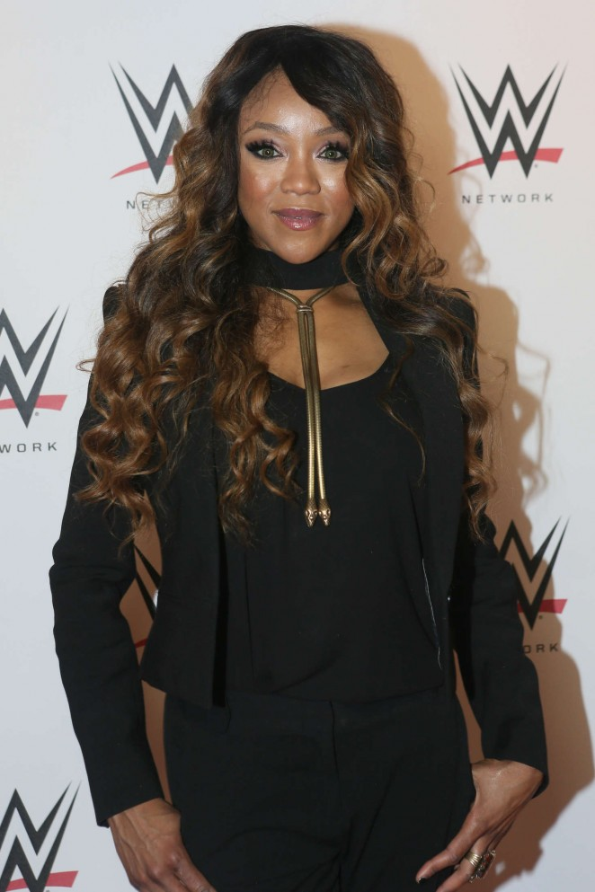 Alicia Fox - WWE LIVE Revenge held at AccorHotels Arena in Paris