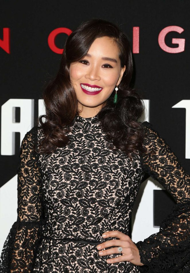 Alicia Hannah - 'Man In The High Castle' Season 2 Premiere in West Hollywood