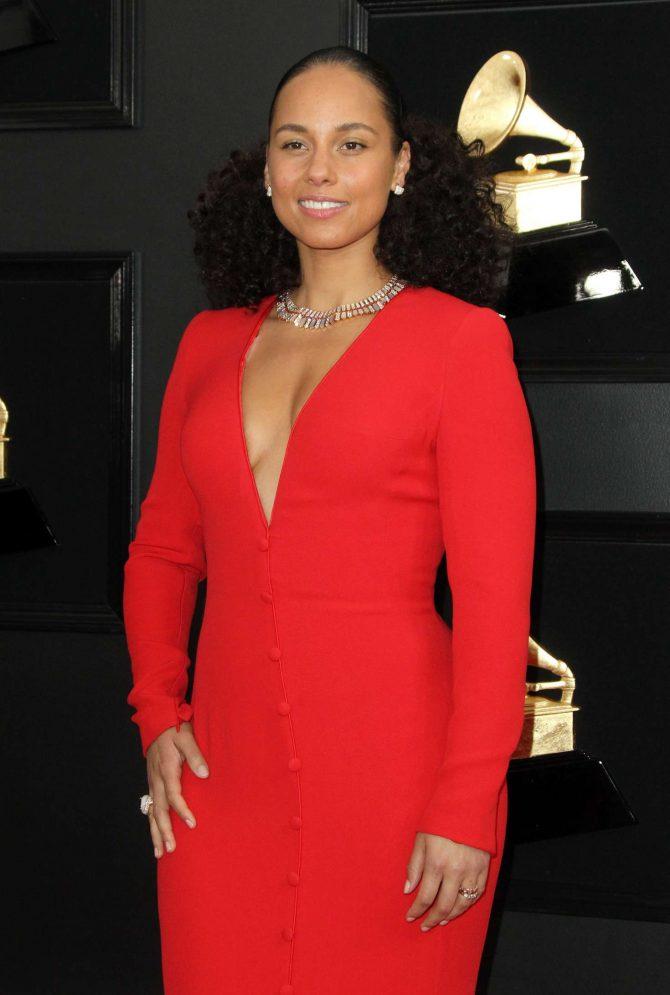 Alicia Keys – 2019 Grammy Awards in Los Angeles