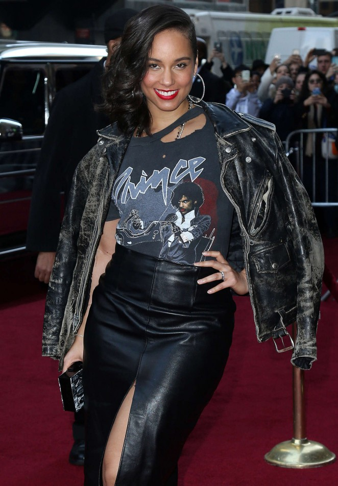 Alicia Keys - Billboard's 10th Annual Women in Music in NY