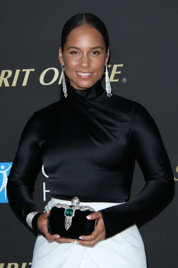 Alicia Keys - City of Hope Spirit of Life Gala in Santa Monica