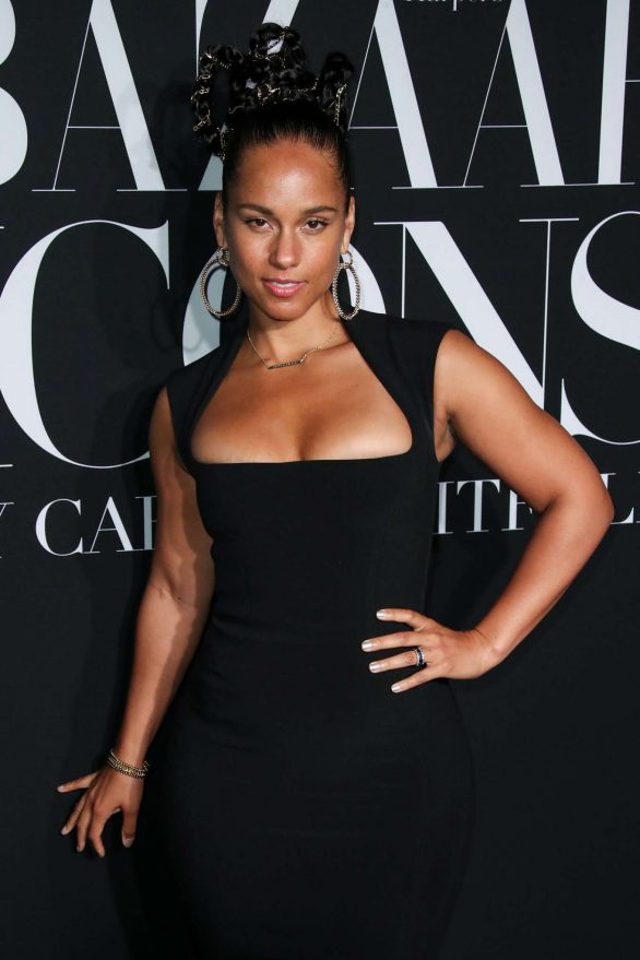 Alicia Keys - Harper's BAZAAR Celebrates 'ICONS By Carine Roitfeld' in NYC