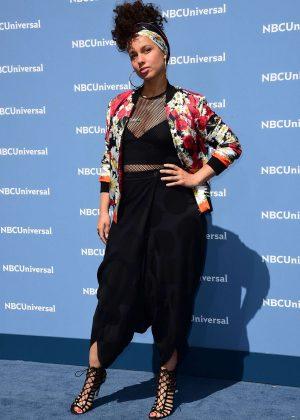 Alicia Keys – NBCUniversal Upfront Presentation 2016 in New York ...  Alicia Keys