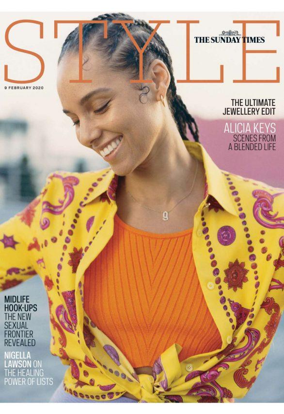 Alicia Keys - The Sunday Times Style magazine