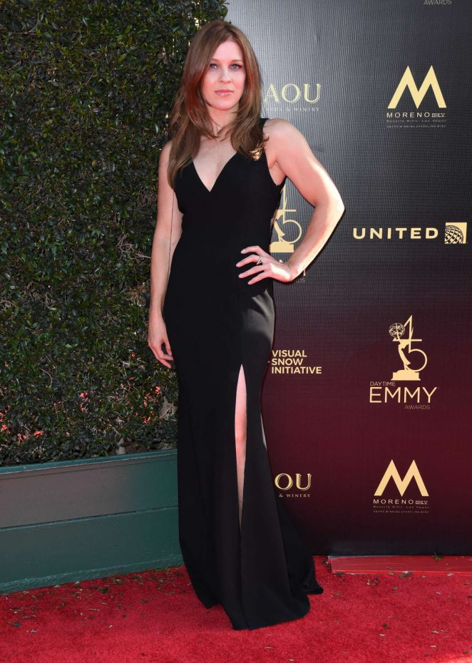 Alicia Leigh Willis - 2018 Daytime Creative Arts Emmy Awards in LA