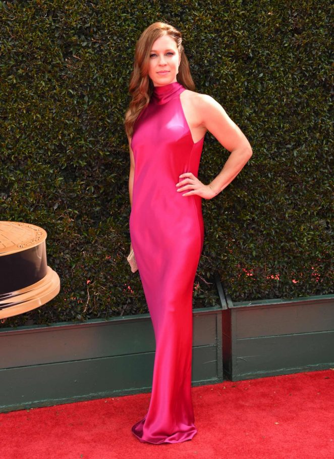 Alicia Leigh Willis - 2018 Daytime Emmy Awards in Pasadena