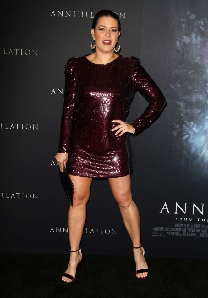 Alicia Machado - 'Annihilation' Premiere in Los Angeles