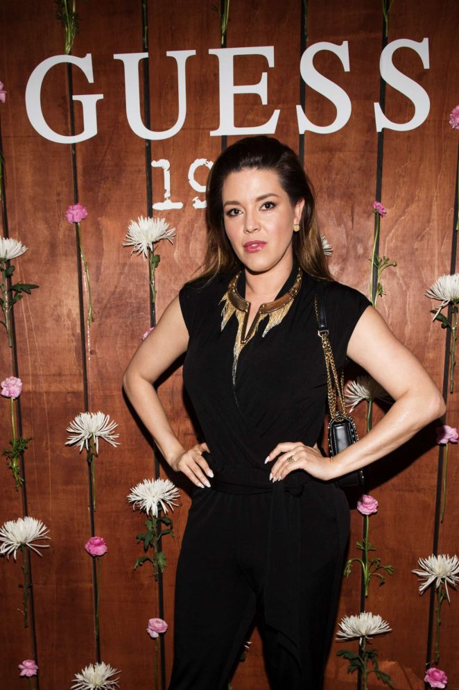 Alicia Machado - GUESS 1981 Fragrance Launch in LA