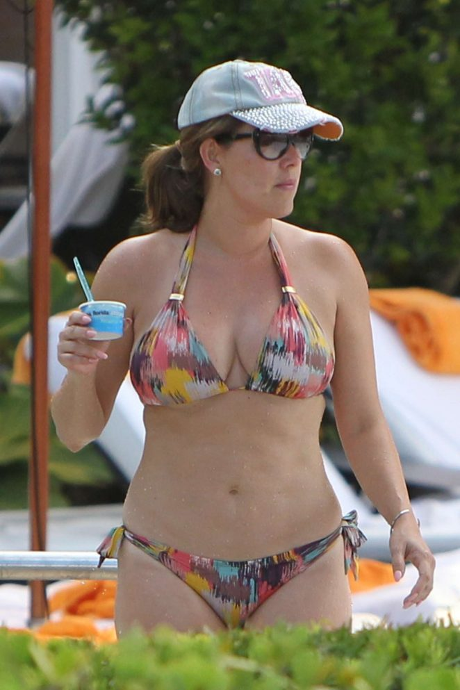 Alicia Machado in Bikini 2017 -08