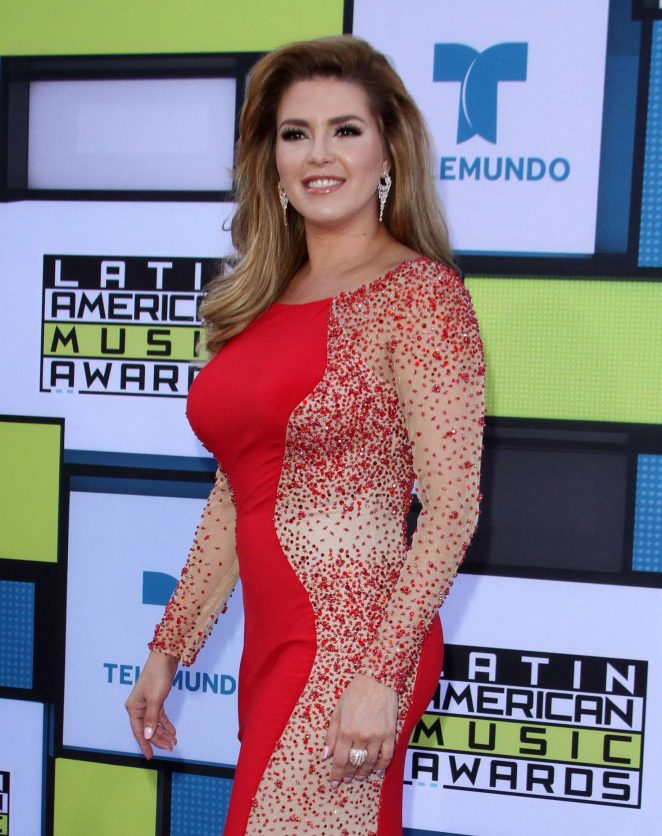 Alicia Machado - Latin American Music Awards 2016 in Los Angeles