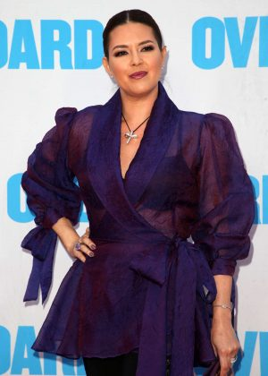 Alicia Machado - 'Overboard' Premiere in Los Angeles