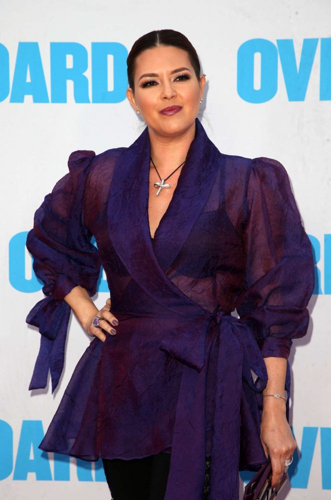 Alicia Machado – 'Overboard' Premiere in Los Angeles