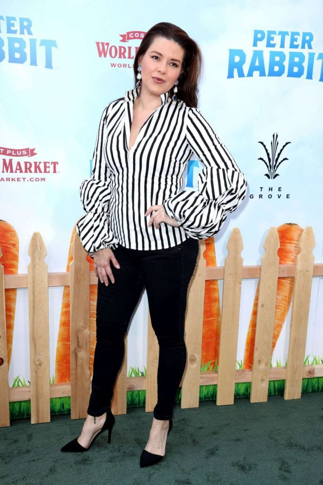 Alicia Machado - 'Peter Rabbit' Premiere in LA