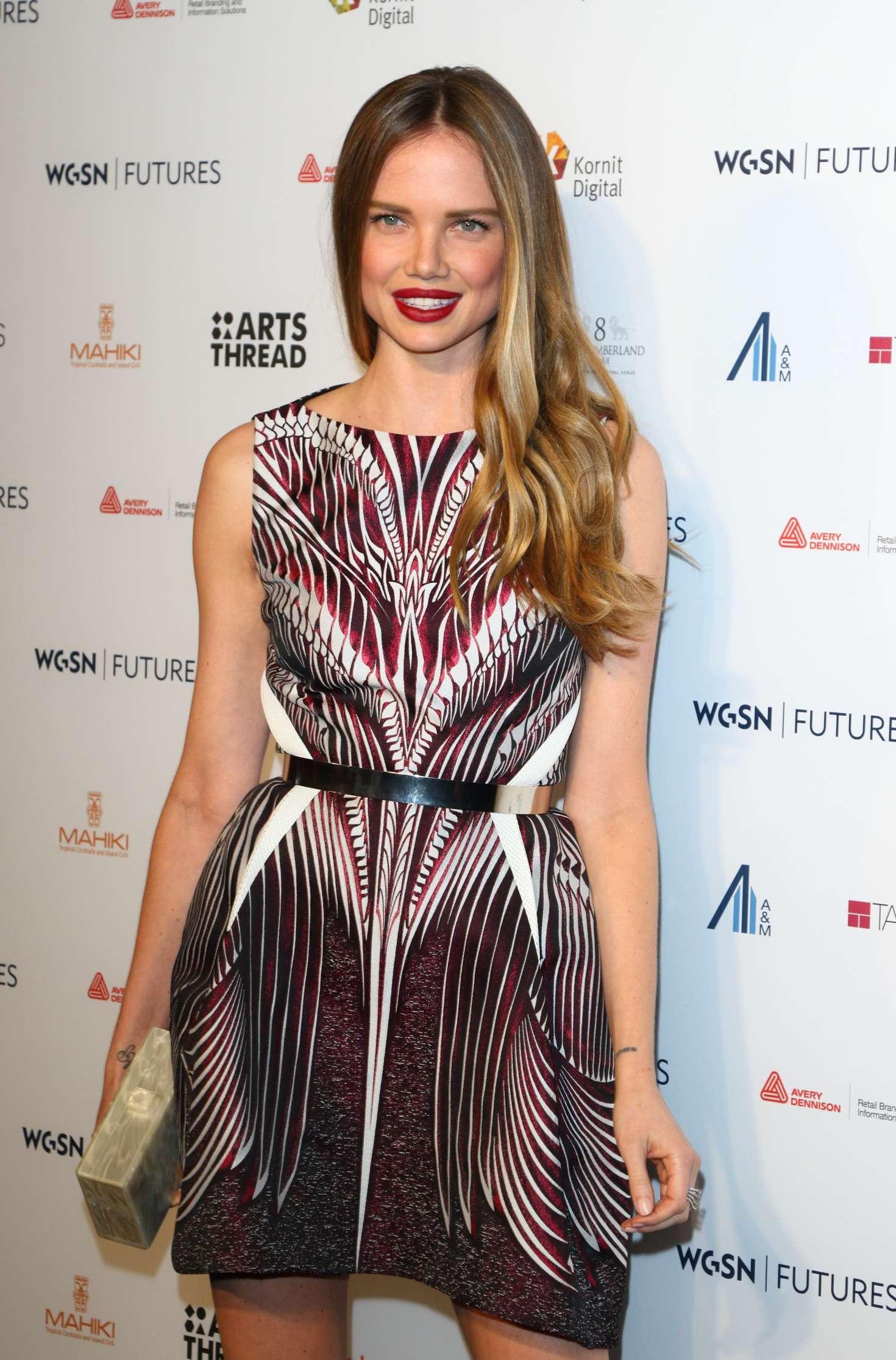 Alicia Rountree - WGSN Futures Awards 2016 in London
