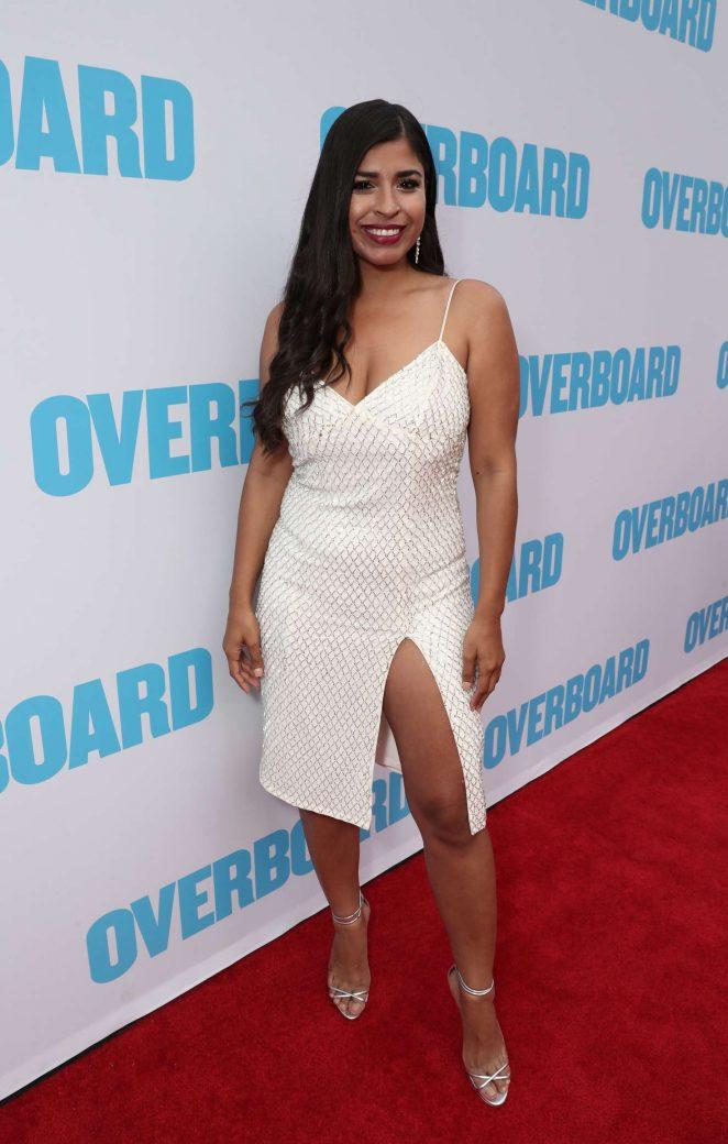 Alicia Saavedra - 'Overboard' Premiere in Los Angeles