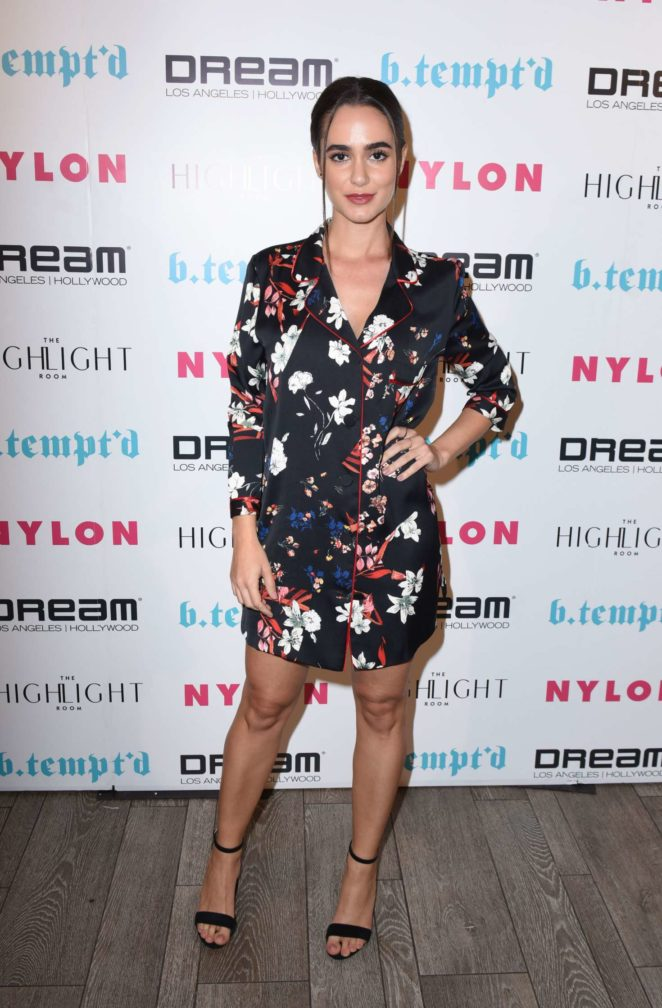 Alicia Sanz - NYLON's It Girl Party at The Highlight Room in Hollywood
