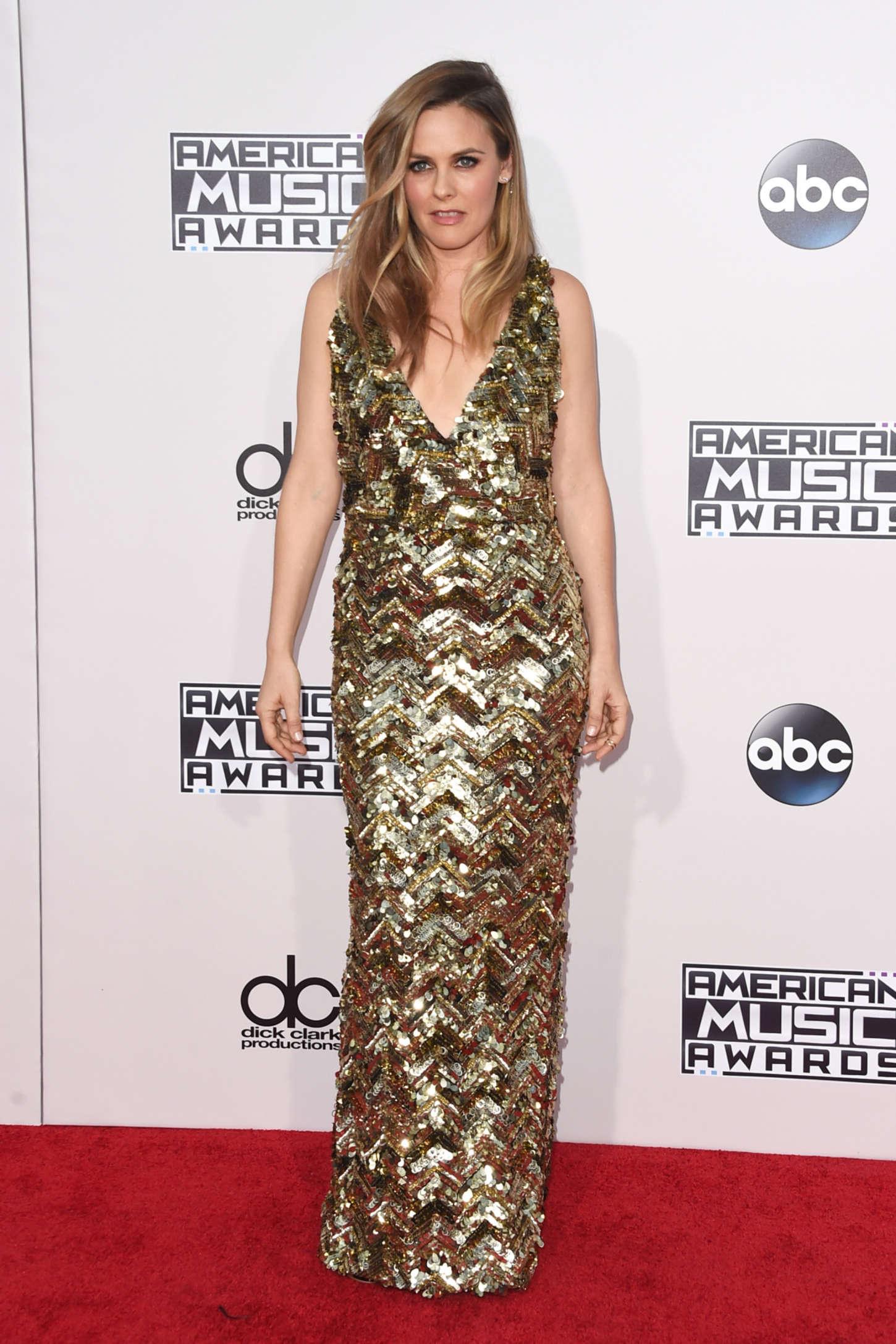 Alicia Silverstone - 2015 American Music Awards in Los Angeles
