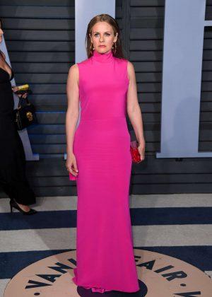 Alicia Silverstone - 2018 Vanity Fair Oscar Party in Hollywood