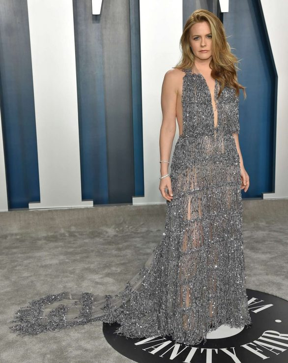 Alicia Silverstone - 2020 Vanity Fair Oscar Party in Beverly Hills